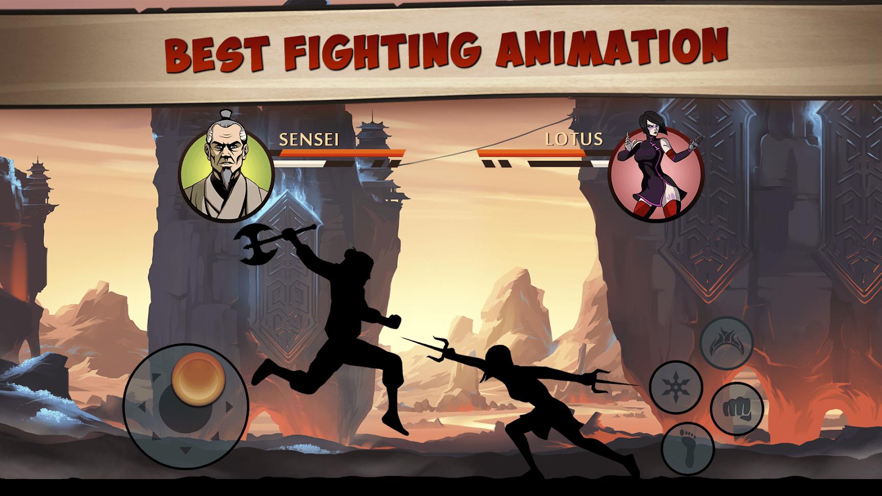 Best Fighting Animation of Shadow Fight 2 Special Edition