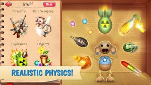 Kick the Buddy Mod APK Download Latest version 2021 [Unlocked All weapons] 3